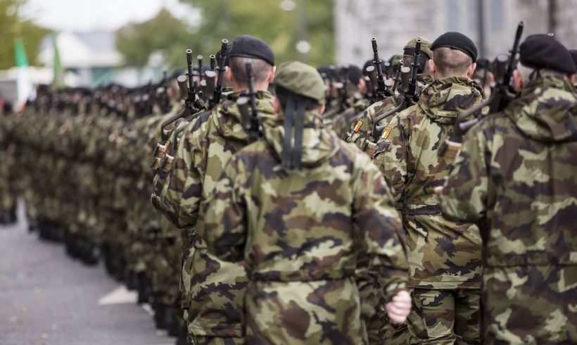 Worrying drop off in Defence Forces numbers continues