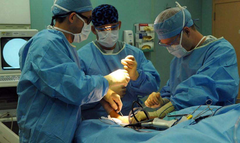 All options must be explored to reschedule orthopaedic procedures