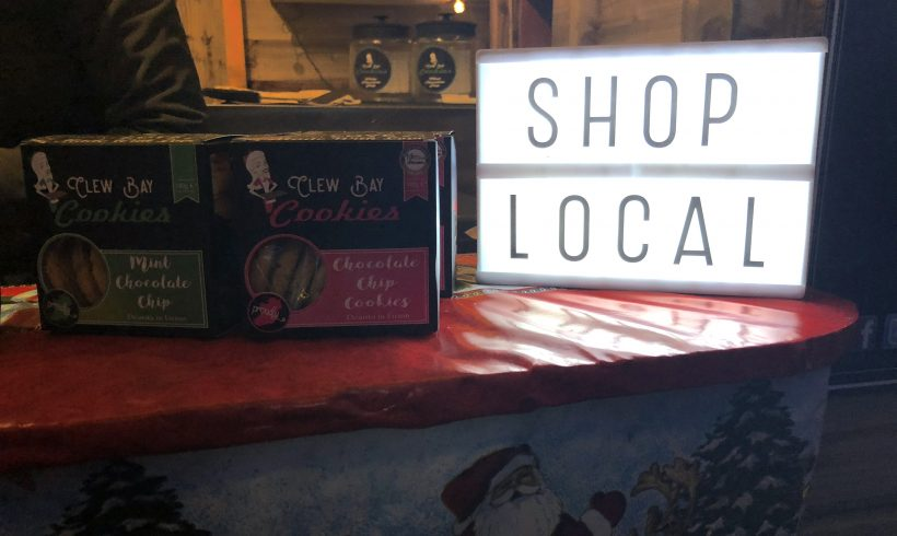 Chambers encourages people to shop local this Christmas